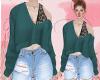 D : Green Lace Shirt