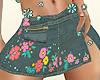 RL Short jean Skirt