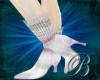 [B]diamond lace stiletto