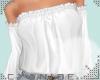 -C- Tucked Top White
