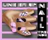 Tr3nds* Line Em Up Pink
