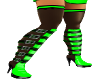 ~DT~ Roxy Boots Green