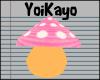 YK  Mushroom Pet *Pink