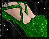 Sparkle Heels Green