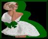 Sparklet Dress WhiteGrn
