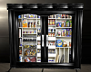 sleek black pantry