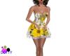 yellow daisy babydoll