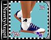 (1NA) Saddle Shoes Blue