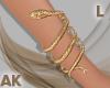 Snake Bracelet L