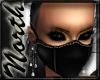NE~ Raven black Mask
