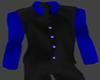 Blue Shirt with Vest
