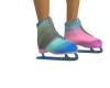 Multi color skates