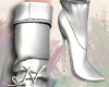 N. Silver Boots