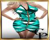 CH-Mozaik Teal Dress