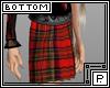*P School Skirt Red