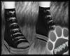 [Pup] Black Converse