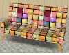 Multi Colored Couch