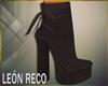 ♣ Platform Boots Brown
