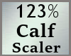 Scale Calf 123% M A