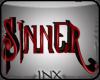~X~SinnerSignRED
