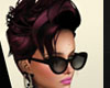 Macy Black w pink tones