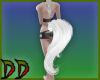 White Friesian Tail