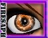 [F] glitter swirl Orange