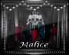 *M* (UT)Skull Chandelier