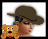 !A! Brown Cowgirl hat