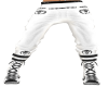 pant + shoes MOH white