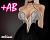 +AB  BIMBO CHOKER DRESS