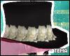 .t. Perona's hat