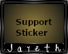 [J] 2k Support Sticker