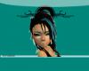 |B| 2toned`AquaBlack