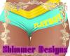 Playboy Neon Shorts