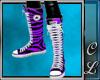 Converse Purple Zebra