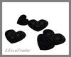 LXF Zephir heart pillows