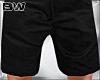 Black Summer Shorts