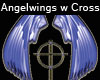 Angels wings & Cross