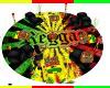 Reggae Love Rasta Rug