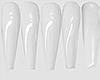 I│Shiny Wte Nails