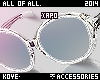 Xapo Acrilic! Glasses