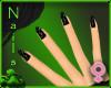 Lush Nails-Black Stars