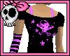 Violet Skull Top