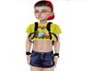 Child small denim shorts