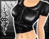 ; Leather vest: Black
