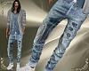 T- Patched Jeans blue 2