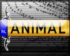 ;ANIMAL- Licence Plate