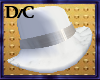 Silver Banded Dress Hat