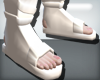 White Shinobi Shoes